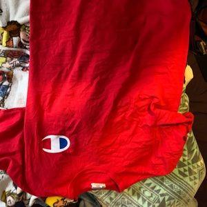 red champion shirt